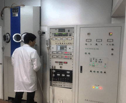 Opitcs Coating machine